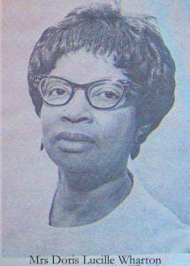 Doris Lucille Wharton