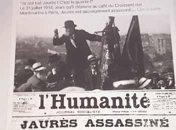 Jaures assassiné
